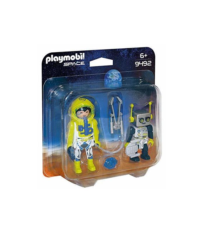 Playmobil 9492 Duo Pack Astronaut And Robot Toy Store Articles Created Handbook