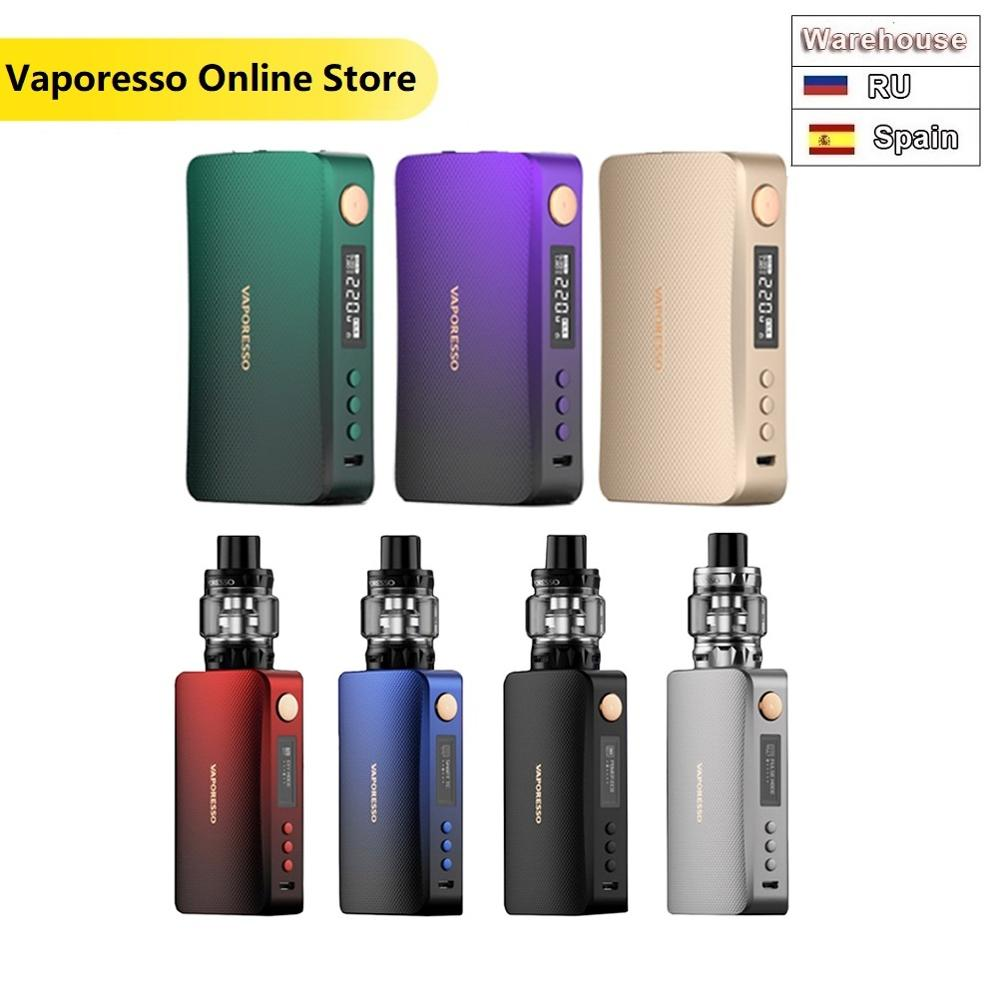 Original Vaporesso GEN Kit 220W GEN Box Mod & 8ml SKRR S Tank Fit QF Coil VS Armour Pro Kit Electronic Cigarette Vaporizer