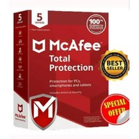 Mcafee Protection totale 2020 1 an Antivirus télécharger