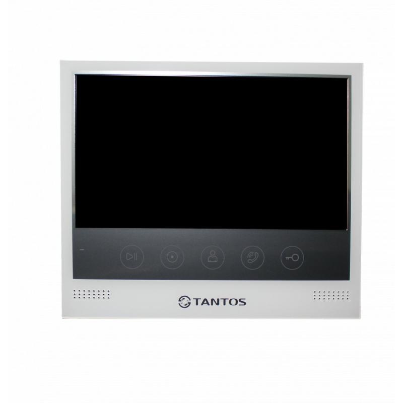"Видеодомофон Tantos Selina. Экран 7"", CVBS (PAL), до 2х панелей, до 2х камер, до 4х мониторов, толщ. корпуса 14мм, встроенный БП"
