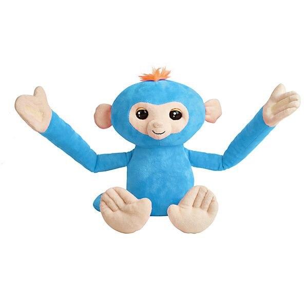 Monkey Cushion WowWee Fingerlings Blue
