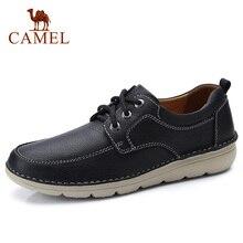 גמלים גברים של נעלי סתיו חורף נוסע מזדמן אמיתי עור גברים נעליים מזדמנים Outsole קל עור פרה אופנה נעלי גברים