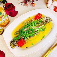 #太太乐鲜鸡汁芝麻香油#鲜鸡汁桂鱼的做法图解9