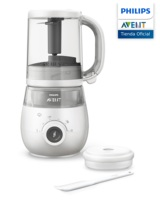 Philips Avent, SCF883/01, 4 in 1 baby food processor, white color, steamed kitchen, triture, DeconGel and Heats