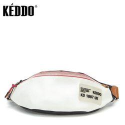 Сумка женская 307123/02-01 черный/белый KEDDO