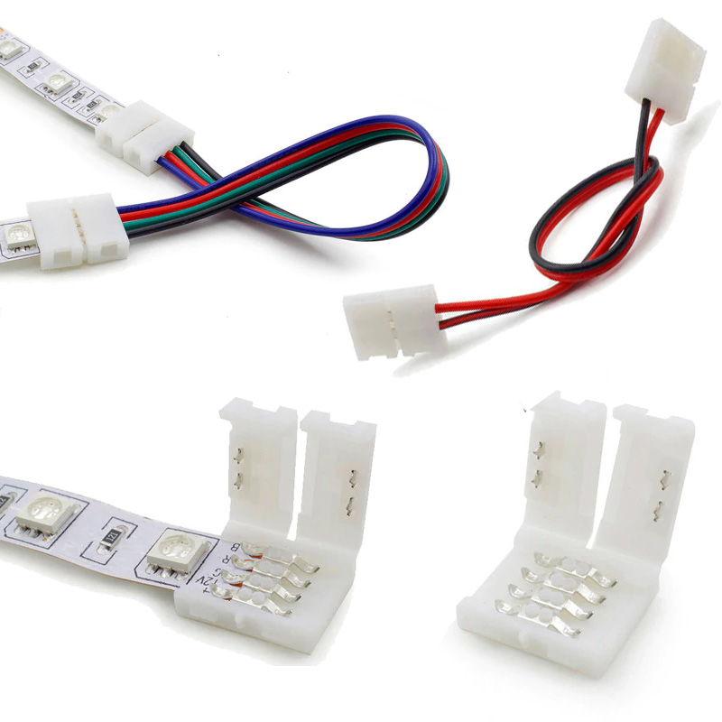 Connector For LED Strip SMD 2835/3528/3014/5050/5630 With PCB 8 Mm / 10 Mm