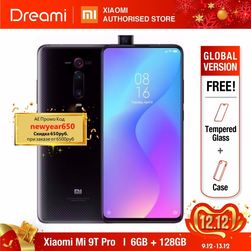Global Version Xiaomi Mi 9T PRO 128GB ROM 6GB RAM (Brand New And Sealed Box) Mi9tpro128 Mi9t