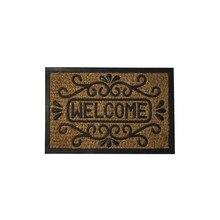 Doormat Coconut Fiber and Rubber Welcome 40×60 cm.