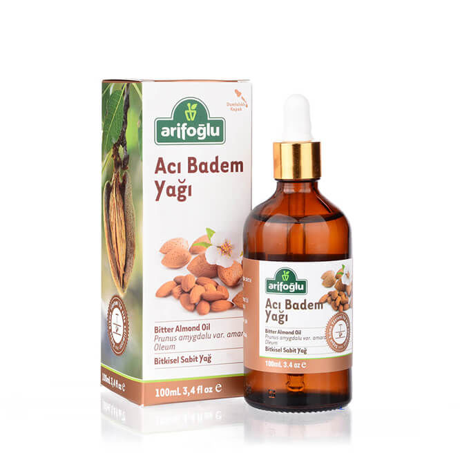 Bitter Almond Oil 100ml Quality Goods Natural Dark Oil Skin Care