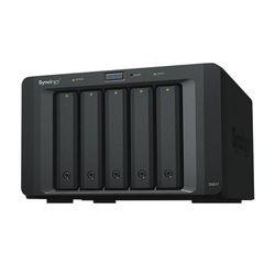 External Hard Drive Nas Synology DX517 2,5-3,5 SATA 60 TB Black