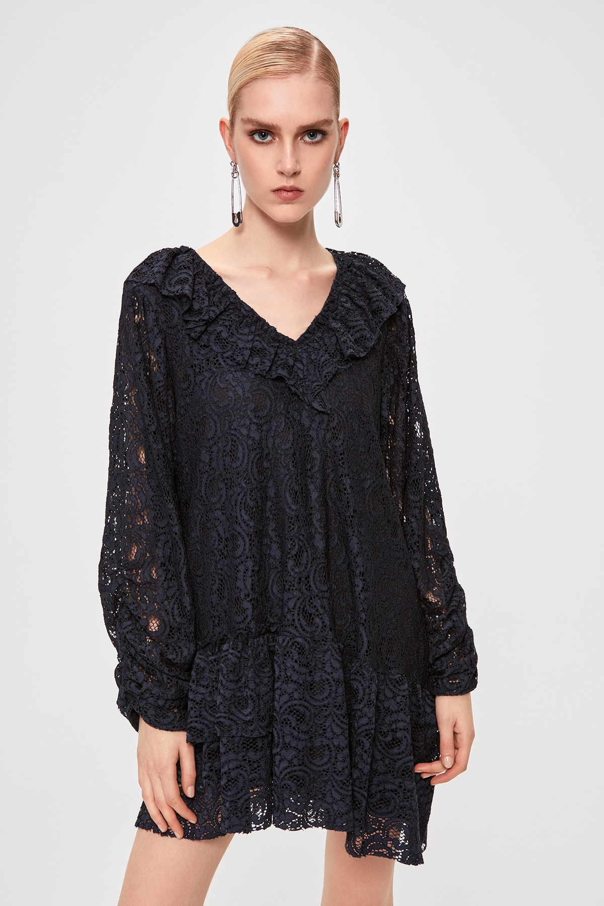 Trendyol Lace Dress TPRAW20EL1838