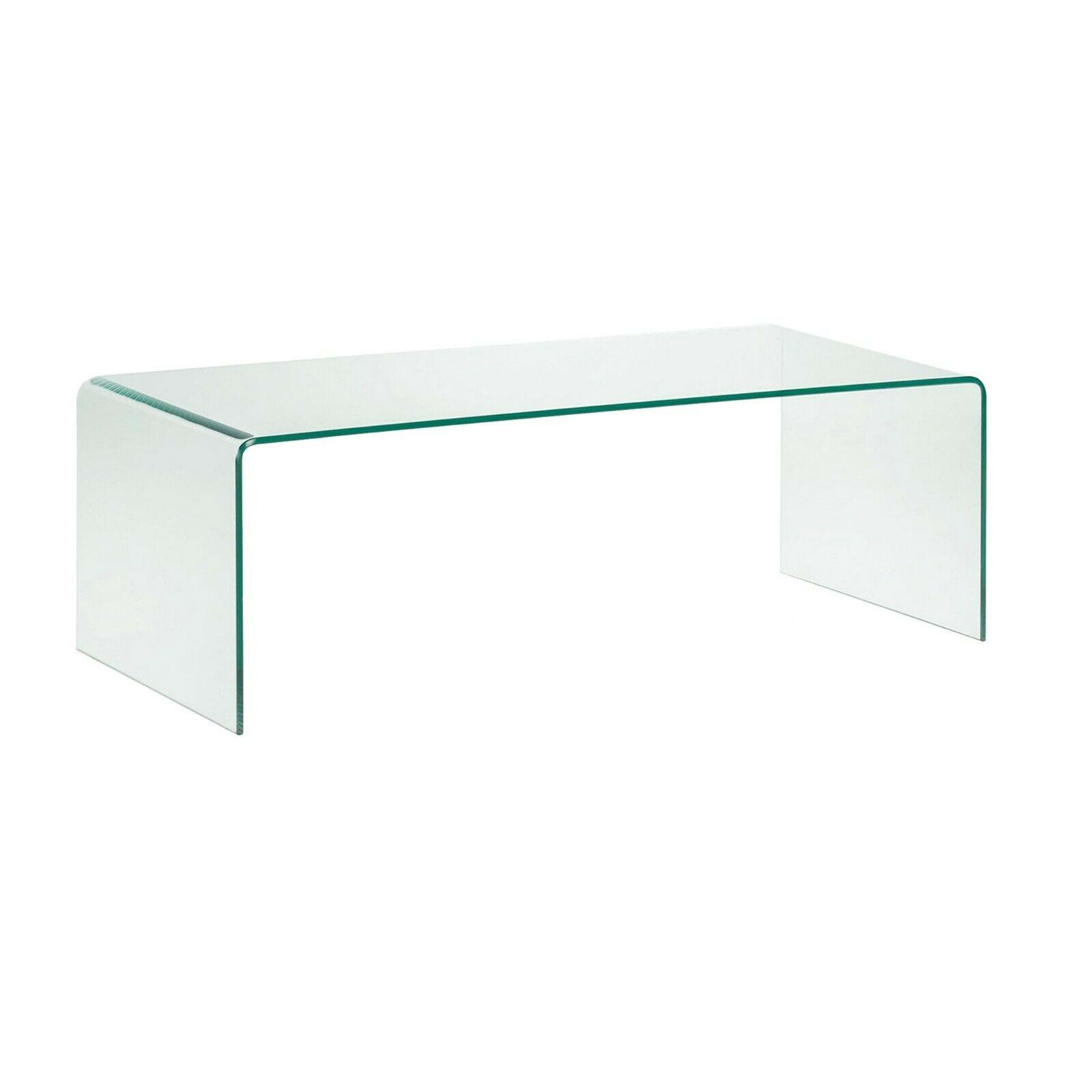 Tavolo Cristallo In Vetro.Tavolino Tavolo Basso Da Caffe Salotto Soggiorno Camera Da Pranzo