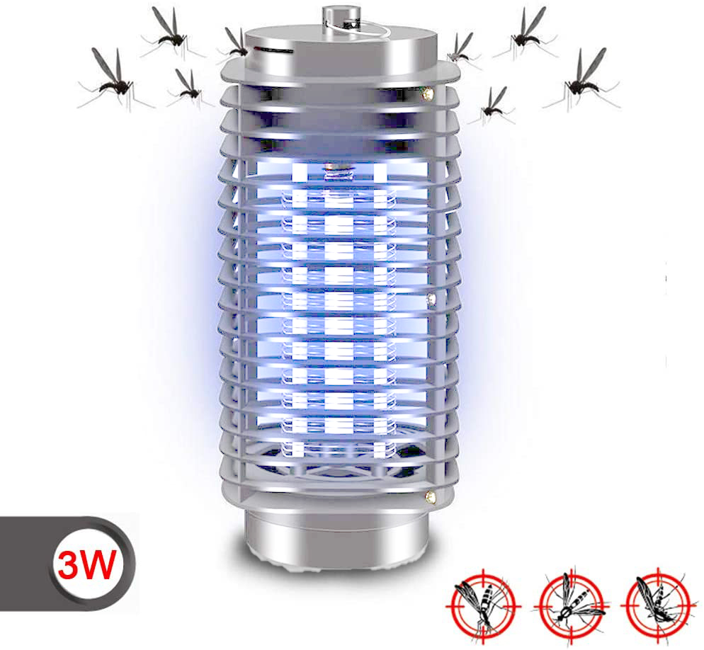 Anti Mosquito Lamp UV 3W / 12W / 30W Lamp Kills Insects Mosquitoes Outdoor Indoor Flies Electric Anti Mosquitoes
