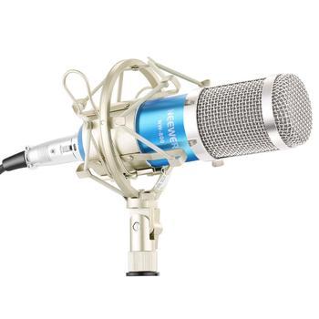 Zestaw mikrofonów newer NW800 w tym NW-800 profesjonalny mikrofon pojemnościowy + mocowanie amortyzujące + nasadka piankowa + kabel zasilający mikrofonu tanie i dobre opinie NEEWER desktop microphone studio microphone Pojedyncze Mikrofon Przewodowy 40087778