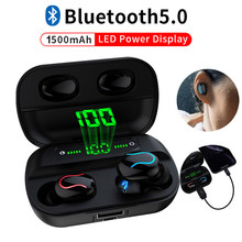 Q32 Bluetooth Earphone TWS Earphones ,Bluetooth 5.0 Wireless Headphones ,Sports Handsfree Earphone With Mic(China)