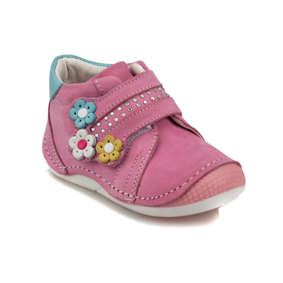 FLO 92. 511738.I Pink Female Child Shoes Polaris|Sneakers| |  - title=