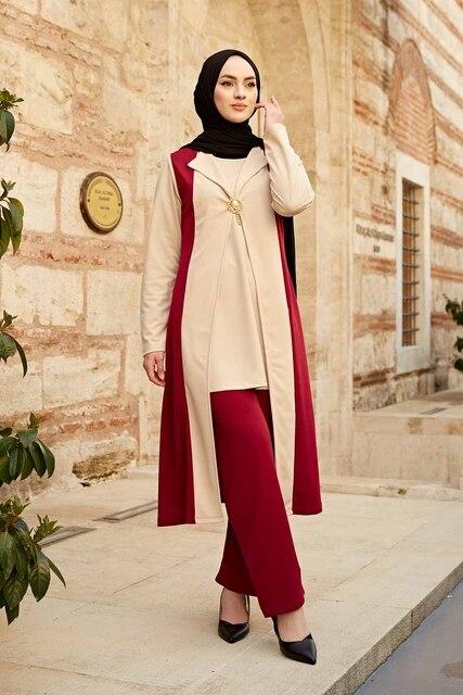 Kaftan 3 pieces Fashion Dress Sets Ensemble 5