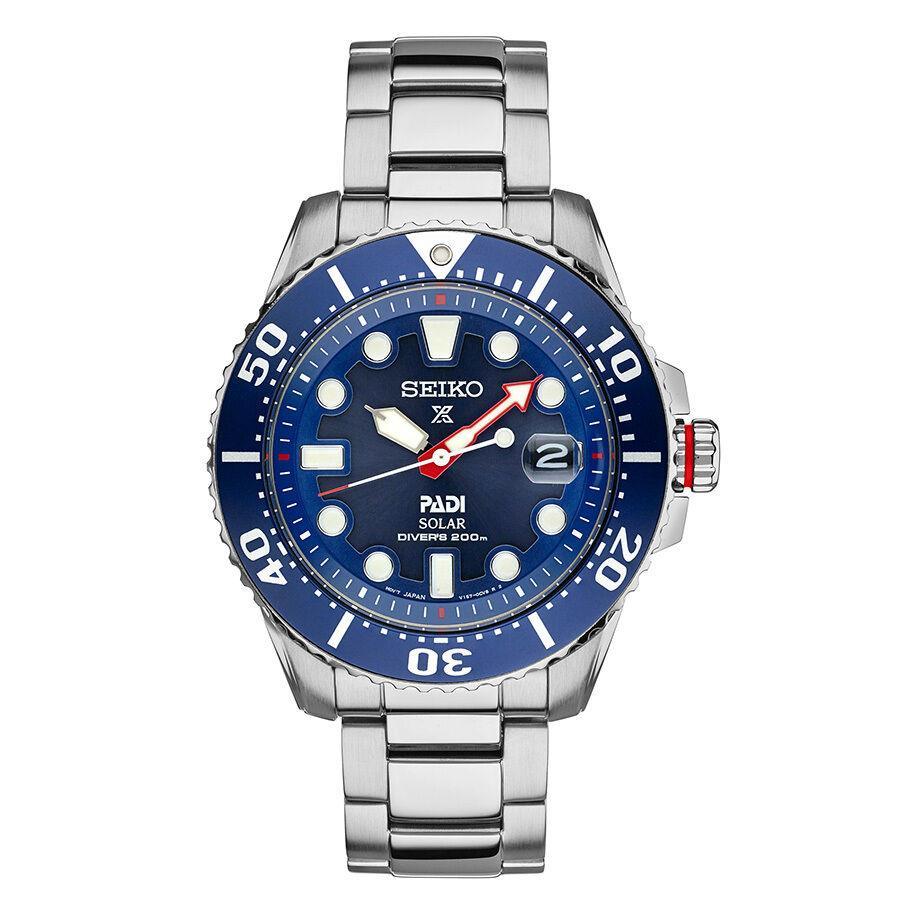 Мужские наручные часы Seiko Padi Solar SNE435 Prospex Divers 43 мм| |   | АлиЭкспресс