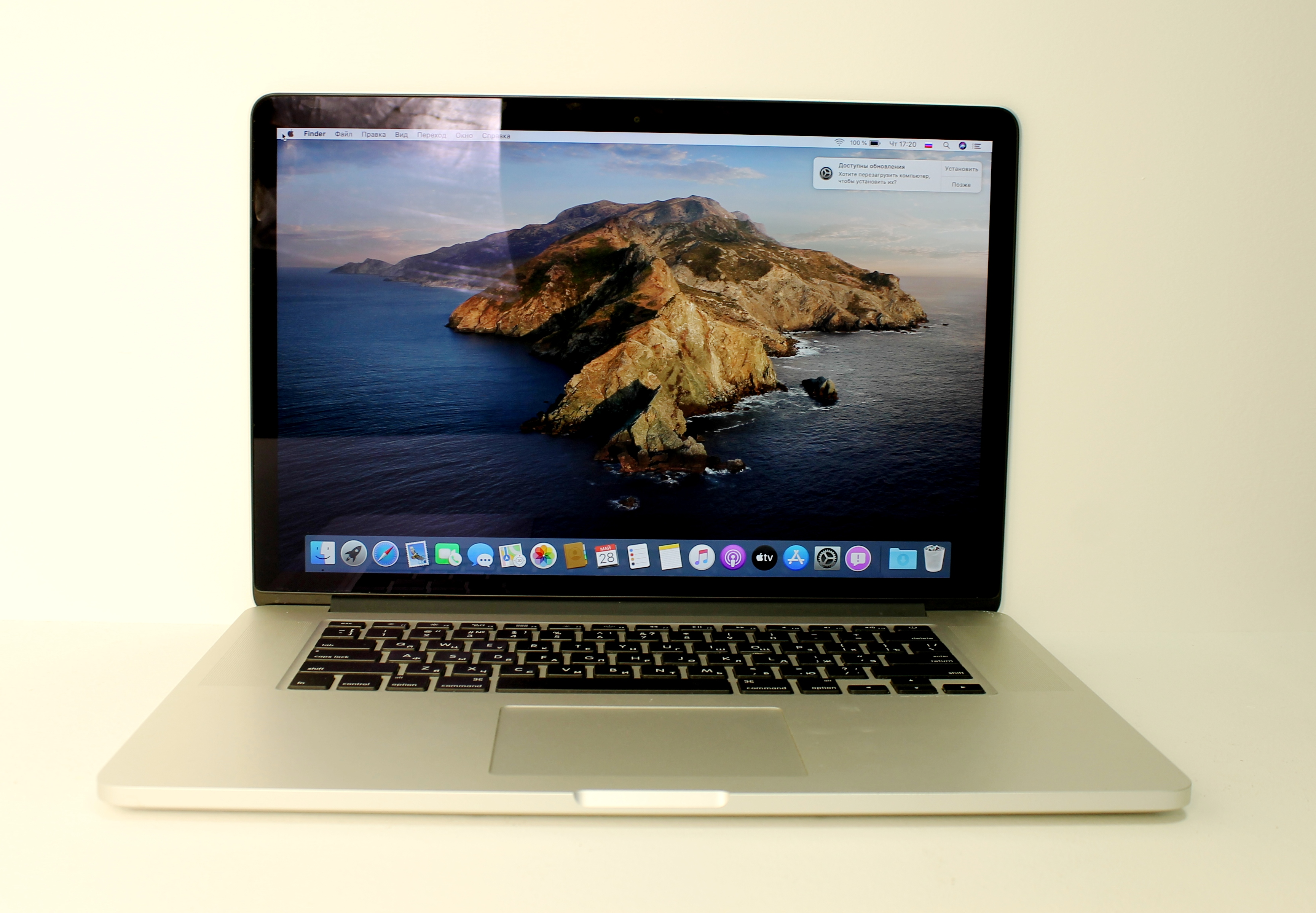 Macbook Pro retina 2015\i7\R 9 M370X 2Gb\16Gb\256Gb\15,4