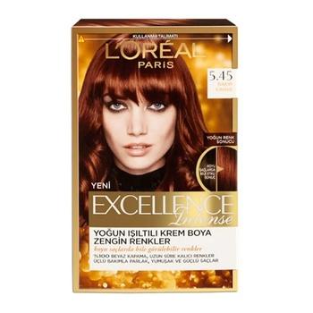 Loreal Excellence İntense farba do włosów 5 45 kawa miedziana 248526565 tanie i dobre opinie