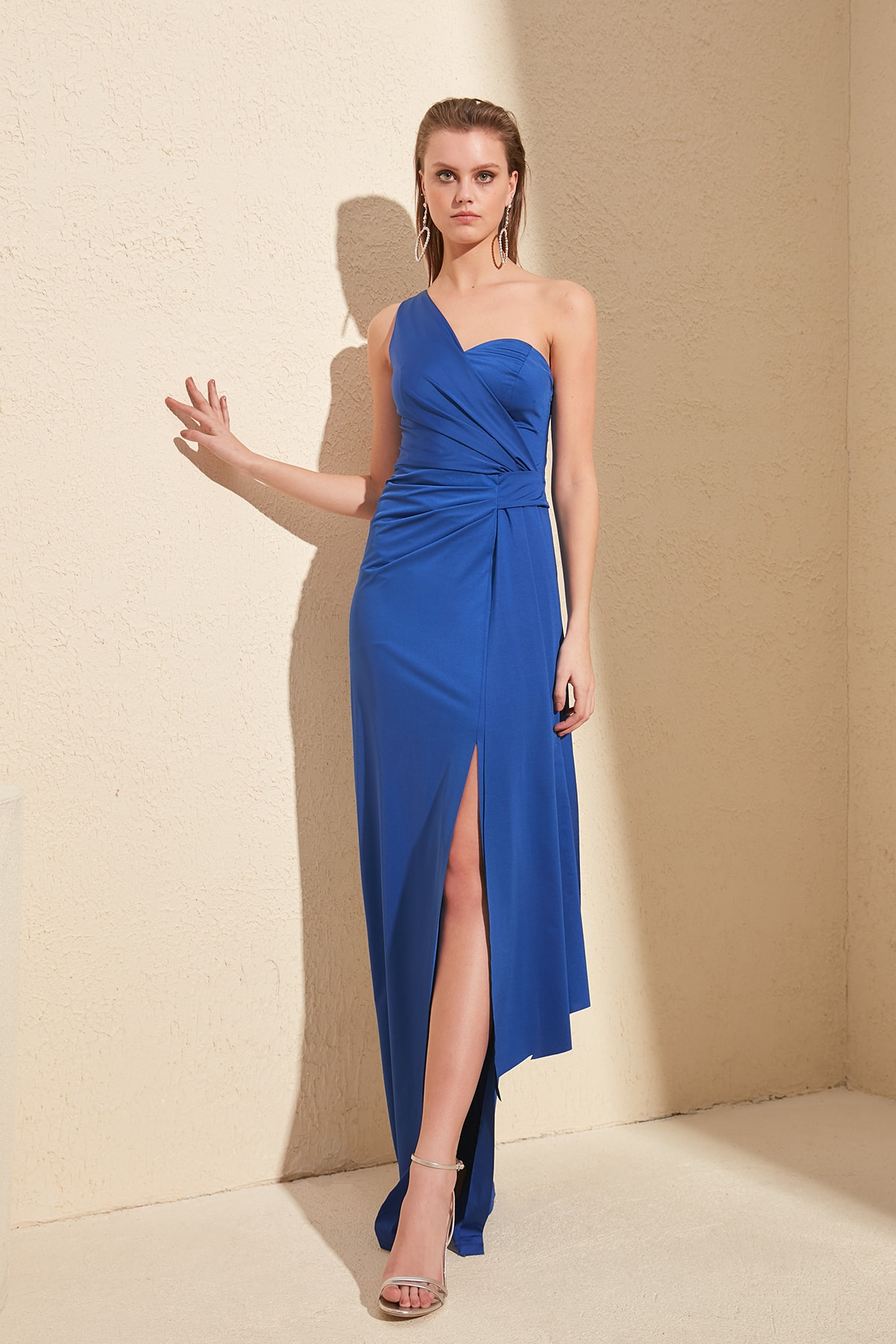 Trendyol Waist Detail Evening & Prom Gown TPRSS20AE0117