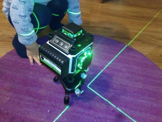 Níveis de laser Linhas Auto-nivelamento Horizontal