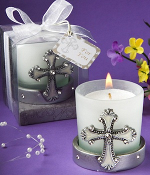 Candle Elegant Angel 1ª Communion-Details And Gifts For Weddings, Christening Memories And Communion For Guests