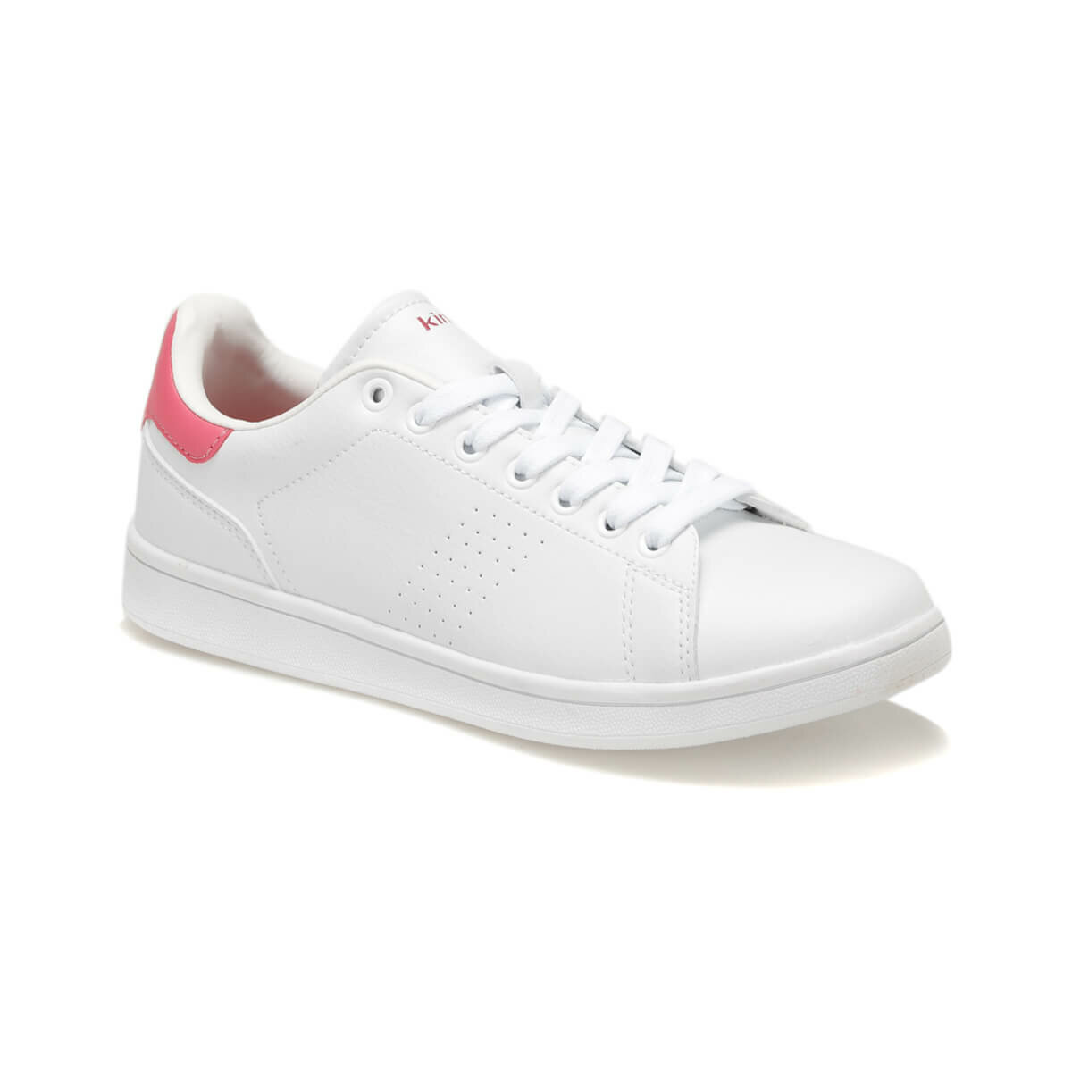 FLO PLAIN W White Women 'S Sneaker Shoes KINETIX