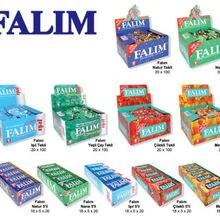 GUM Sugar-Free Turkish-Chewing FALIM 6-Different 100pcs Tastes Job-Lot