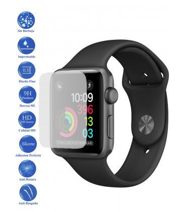 Protector de Pantalla Cristal Templado Vidrio Reloj Apple Watch Series 3 38 mm