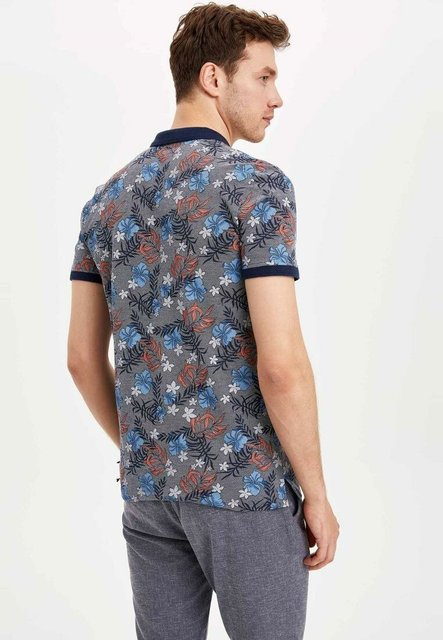 DeFacto New Summer Man Fashion Polo shirt Men's Casual Print Pattern Tops Male Cotton Comfort Short Sleeves – K3969AZ19SM Men's Fashion
