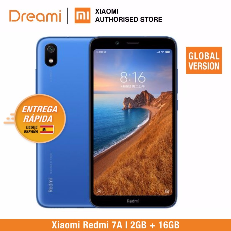 Global Version Xiaomi Redmi 7A 16GB ROM 2GB RAM (Brand New and Sealed) 7a 16gb-in Cellphones from Cellphones & Telecommunications