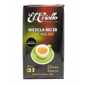 Coffee the Creole mix 80/20 , 250g ground coffee