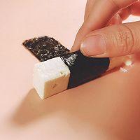 海苔照烧豆腐的做法图解3