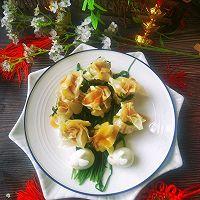 #太太乐鲜鸡汁芝麻香油#鸡汁兰花的做法图解14