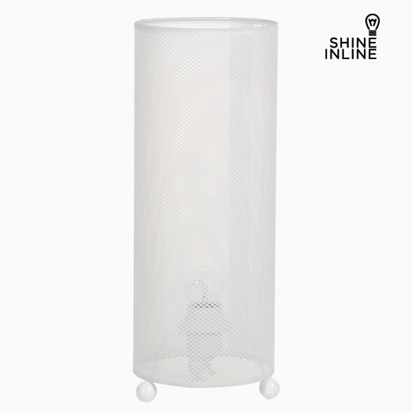 Desk Lamp Material Cellulose Blanco By Shine Inline