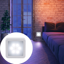LED Night Lamp Smart Motion Sensor WC Night light Bedside LED Night Lamp For Room Hallway Pathway Toilet Battery Operated