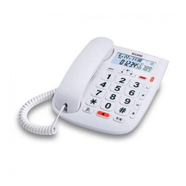 Landline for the Elderly Alcatel T MAX 20 White Telephones     - title=