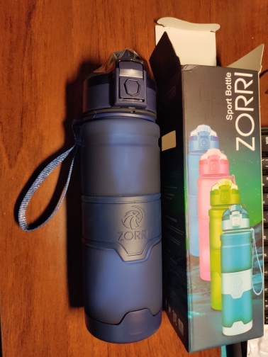 ZORRI Drak Blue Sports Water Bottle Best Reusable Protein Shaker Bpa Free Water Bottle Hiking Cycling Gym Bottle botella de agua|Water Bottles| |  - AliExpress