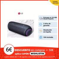 LG XBOOM Go PL5, Altavoz portátil 20W, Meridian, batería 18h, Bluetooth 5.0, protección agua IPX5, Iluminación LED,asistente voz