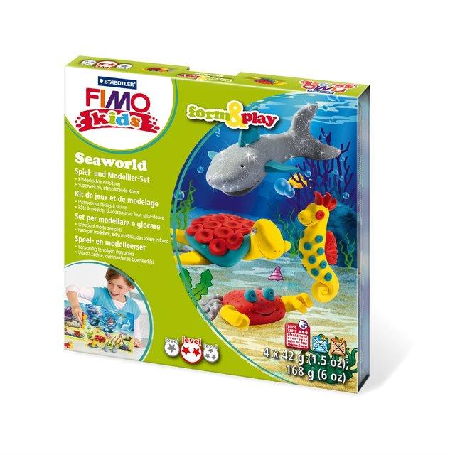 Set Staedtler Fimo arcilla polimérica con elementos de juego forman y juegan mundo submarino