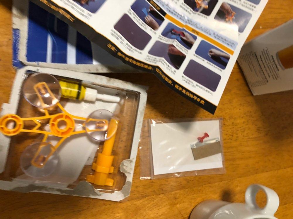 Kit Reparador De Para-brisa Trincado photo review