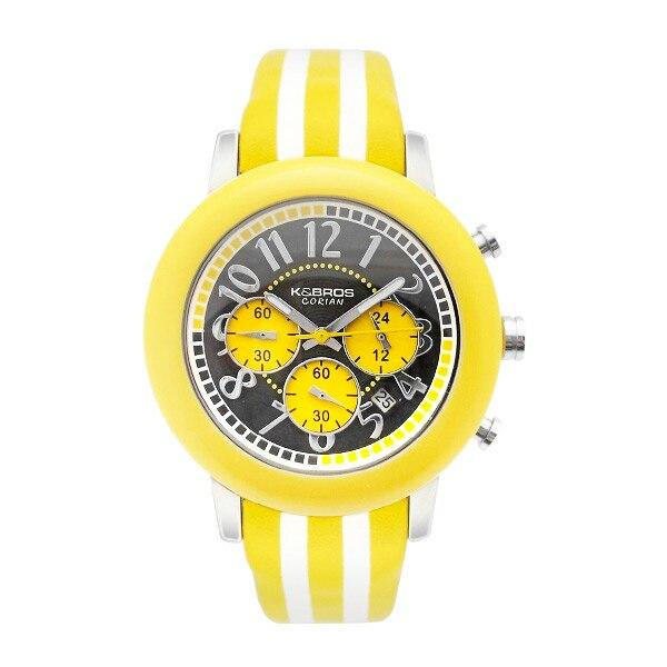 Часы унисекс K & Bros 9427-3-710 (43 мм)