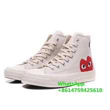 CDG x Converse Chuck 1970 all star set for men and women daily leisure canvas flats shoes 2021