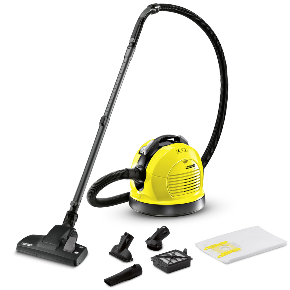 Vacuum Cleaner electric KARCHER VC 6 * EU (Power 600 W, automatic winder)