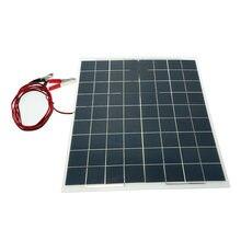 60 Вт 12 В полугибкое зарядное устройство для солнечных панелей