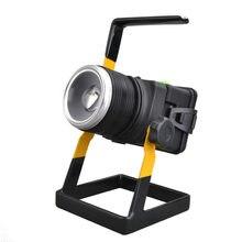 Holofote Portátil Recarregável Led 100w Emergência Led Zoom