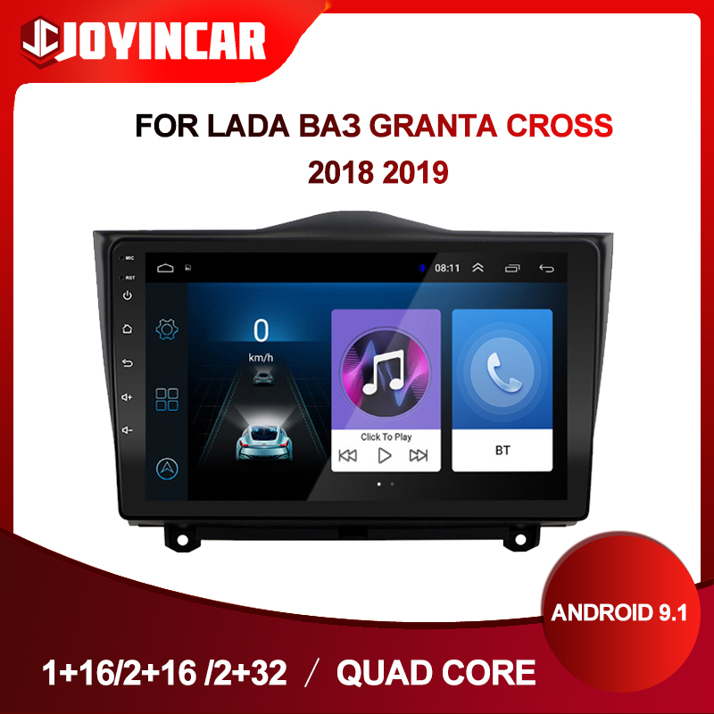 Android 9.1 2 Din Car Radio For LADA ВАЗ Granta Cross 2018 2019 Car Multimedia Video Player GPS Navigation Autoradio DVD image