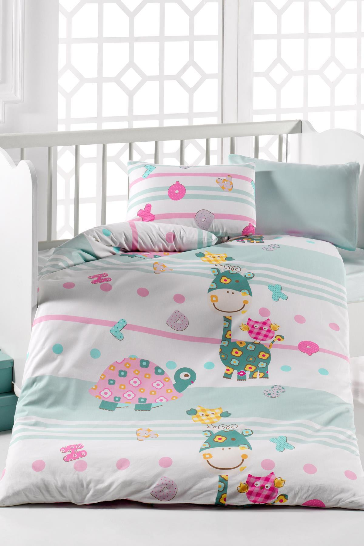 The Loggerhead 7Parça 100 Cotton Baby Sleep Set