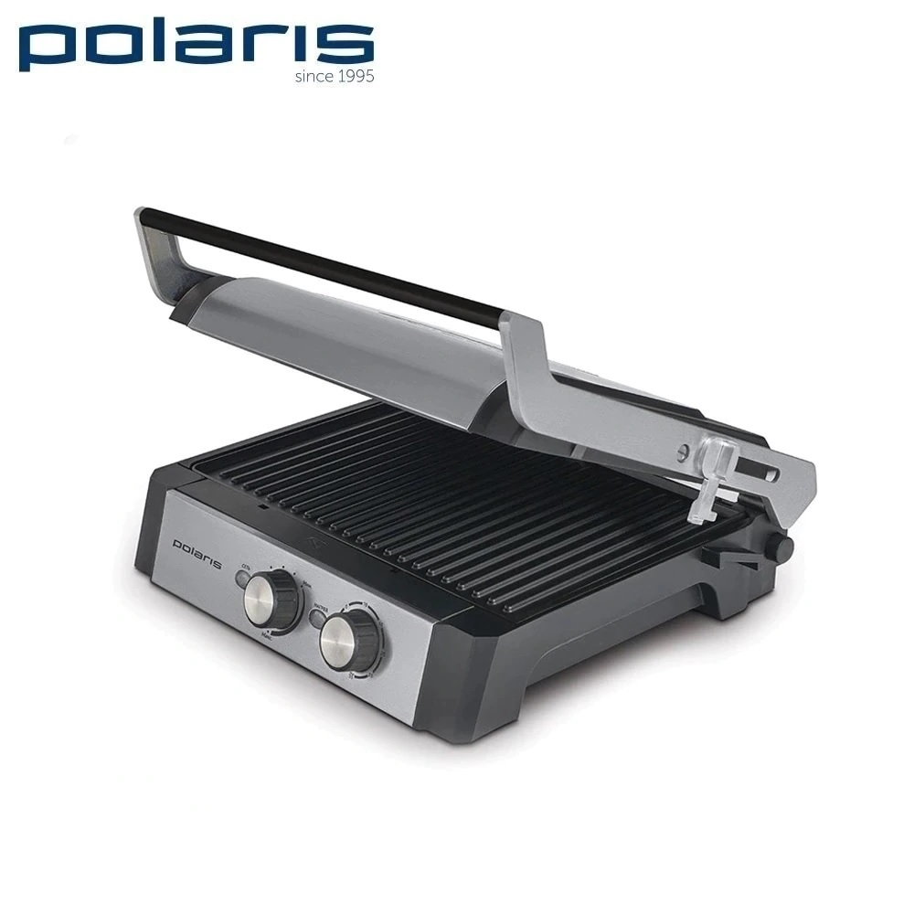цена на Electrical Grill Polaris PGP 1302 2200W  Expert home kitchen appliances Lazy barbecue Grill electric